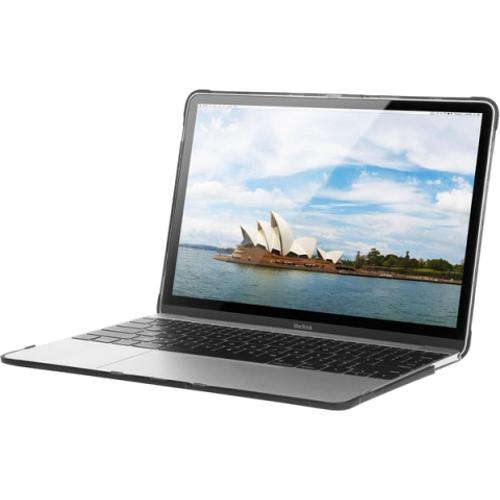 Чехол STM Dux для MacBook 12 RetinaЧехлы для MacBook 12 Retina<br>Чехол STM Dux Black для MacBook12 Черный<br><br>Цвет товара: Чёрный<br>Материал: Пластик, резина