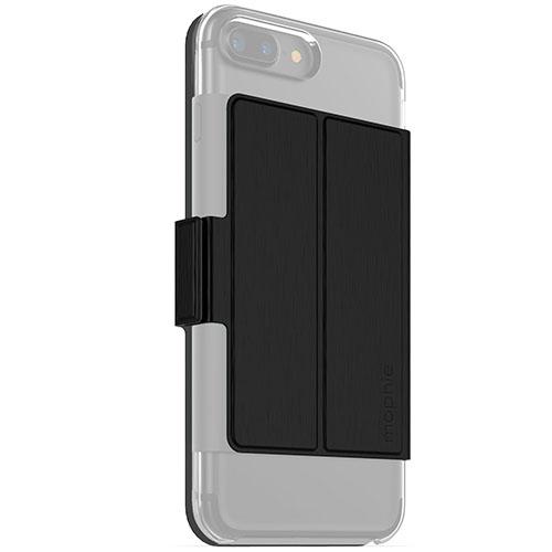 Дополнение для чехла Mophie Hold Force Folio для iPhone 7 Plus (Айфон 7 Плюс) чёрноеЧехлы для iPhone 7/7 Plus<br>Накладка Mophie Hold Force Folio  для чехла Mophie Base Case для iPhone 7 Plus - черный<br><br>Цвет товара: Чёрный