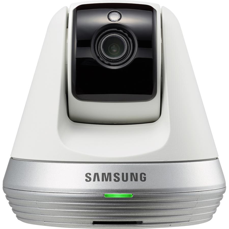 Wi-Fi видеоняня Samsung SmartCam SNH-V6410PNW белаяСистемы видеонаблюдения и безопасности<br>Видеоняня Samsung SNH-V6410pNW smartcam<br><br>Цвет товара: Белый<br>Материал: Металл, пластик