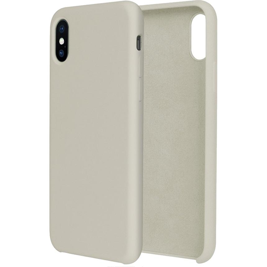 Силиконовый чехол G-CASE Original Flexible Silicone Gel Case для iPhone X бежевыйЧехлы для iPhone X<br>Чехол из гелеобразного силикона с мягкой подкладой из микрофибры. Он гибкий и лёгкий, идеально облегающий корпус мощного смартфона iPhone X.<br><br>Цвет: Бежевый<br>Материал: Гелеобразный гиппоаллергенный силикон, микрофибра
