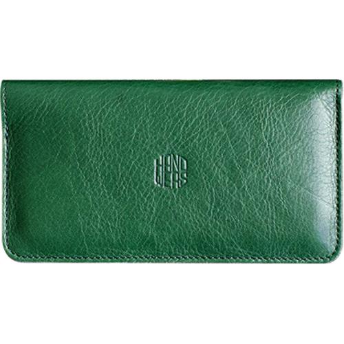 Чехол Handwers Ranch для iPhone 5/5S/SE ЗелёныйЧехлы для iPhone 5/5S/SE<br>Handwers Ranch - одновременно чехол для смартфона и бумажник.<br><br>Цвет товара: Зелёный<br>Материал: Натуральная кожа, войлок