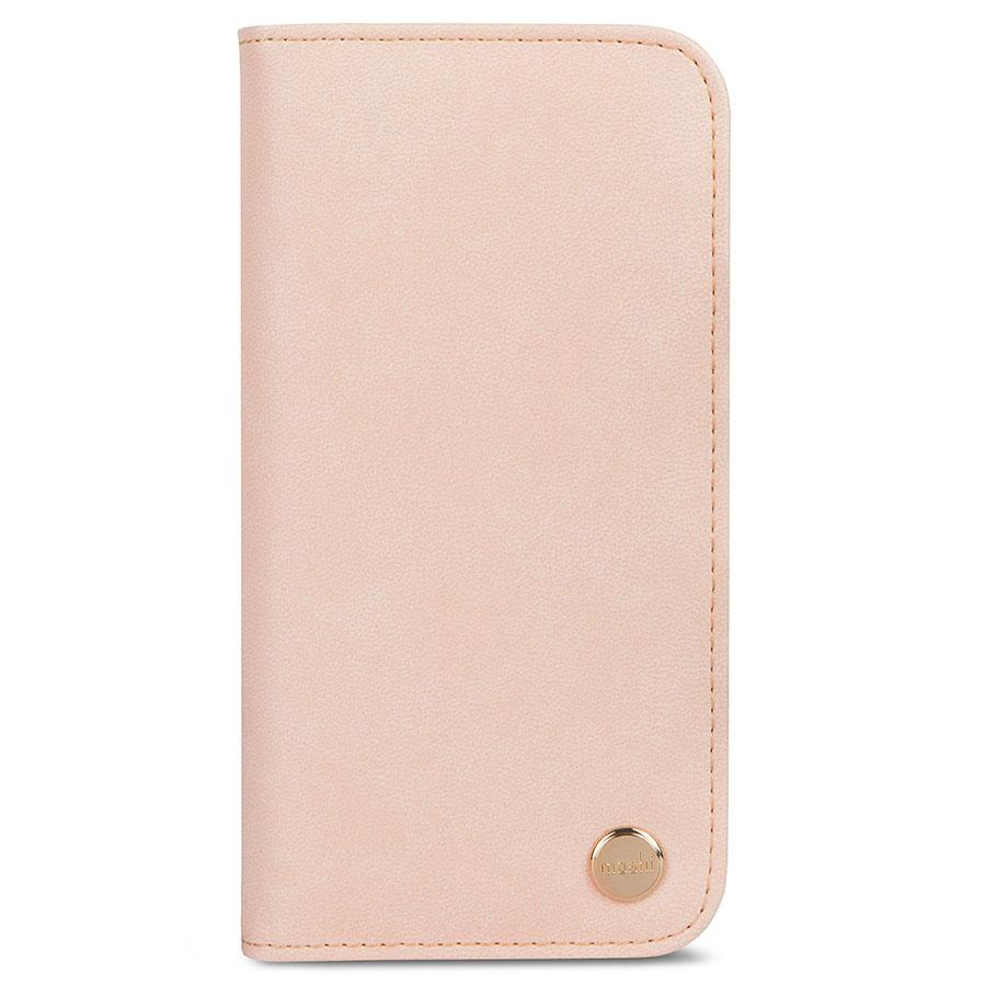 Чехол Moshi Overture для iPhone X розовыйЧехлы для iPhone X<br>Благодаря Moshi Overture вы можете всегда носить с собой всё самое необходимое.<br><br>Цвет товара: Розовый<br>Материал: Веган кожа, поликарбонат