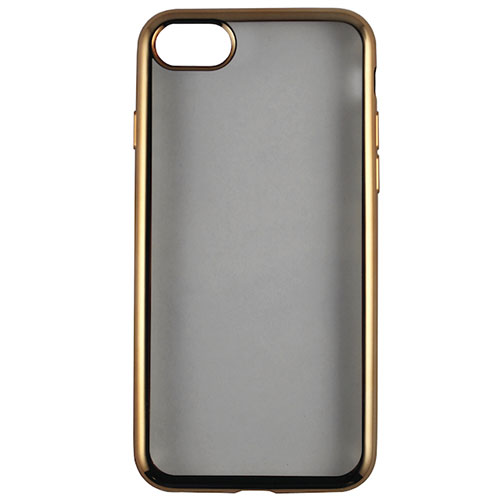 Чехол Red Line iBox Blaze для iPhone 7 Plus золотистыйЧехлы для iPhone 7 Plus<br>Стильный чехол Red Line iBox Blaze с эффектом металлических граней для iPhone 7 Plus.<br><br>Цвет товара: Золотой<br>Материал: Силикон
