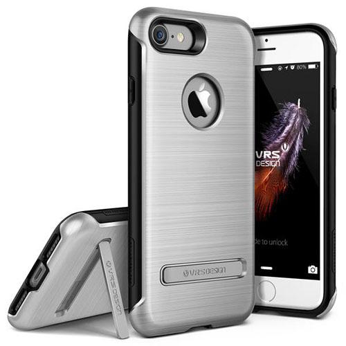 Чехол Verus Duo Guard для iPhone 7 (Айфон 7) серебристый (VRIP7-DGDSS)Чехлы для iPhone 7<br>Чехол Verus для iPhone 7 Duo Guard, серебристый (904616)<br><br>Цвет товара: Серебристый<br>Материал: Поликарбонат, полиуретан