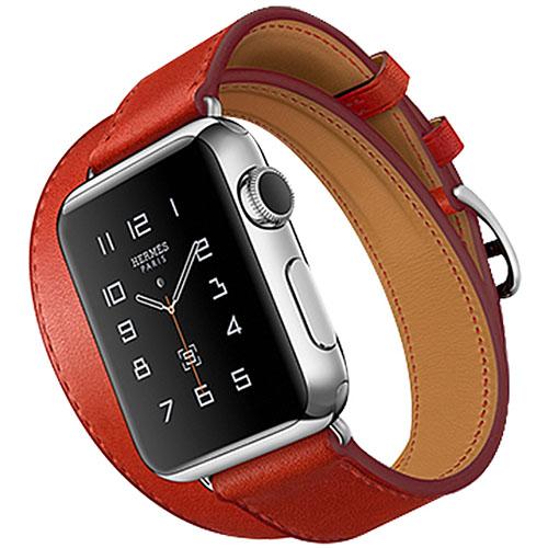 Набор ремешков 3 в 1 Rock Geniune Leather Watch Strap Set для Apple Watch 42 мм красныхРемешки для Apple Watch<br>Ремешки 3 в 1 Rock Geniune Leather Watch Strap Set для Apple Watch 42mm - красные<br><br>Материал: Натуральная кожа, нержавеющая сталь