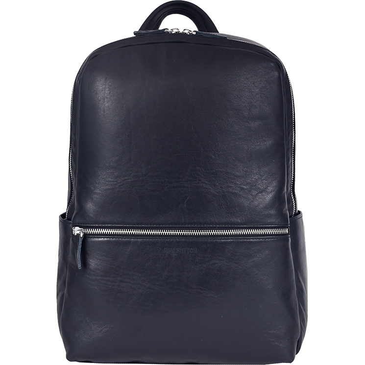 Рюкзак Ray Button Hastings Dark Blue для MacBook 13 синий (701C2)Рюкзаки<br>Ray Button Hastings - это стильный и удобный аксессуар на каждый день.<br><br>Цвет товара: Синий<br>Материал: Натуральная кожа