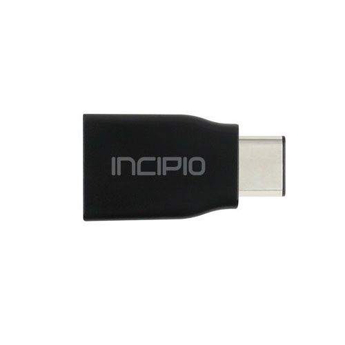Адаптер Incipio USB-C to USB-A 3.1 Adapter чёрный