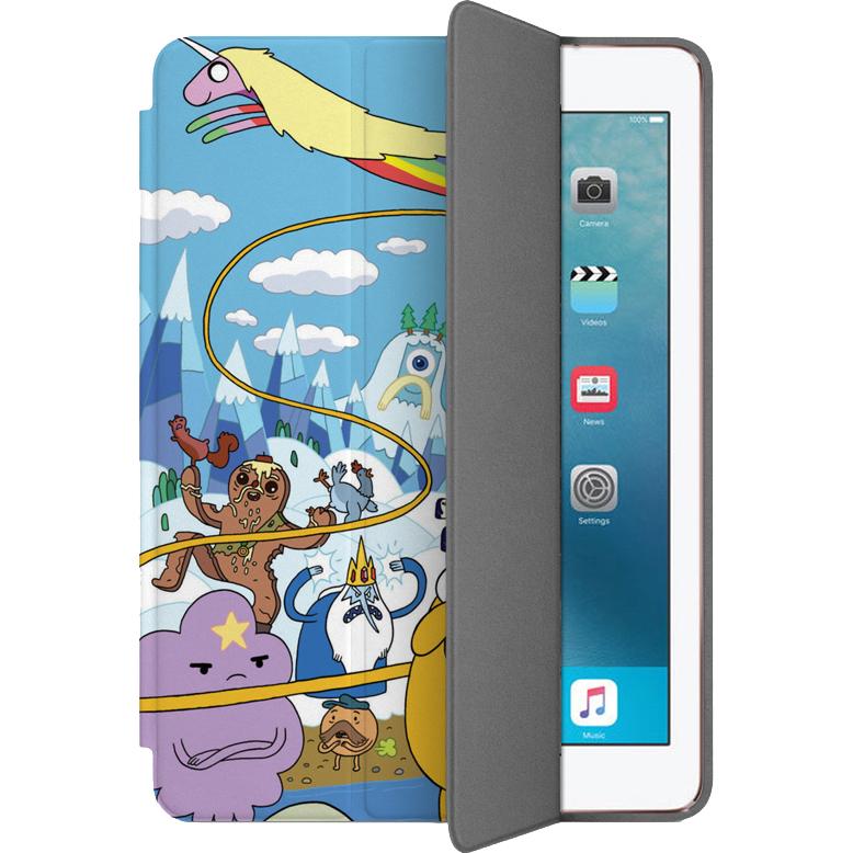 Чехол Muse Smart Case для iPad Pro (10.5) Время приключенийЧехлы для iPad Pro 10.5<br>Чехлы Muse Smart Case — это индивидуальность, насыщенность красок, оригинальные принты и надёжная защита от повреждений.<br><br>Цвет: Разноцветный<br>Материал: Поликарбонат, полиуретановая кожа