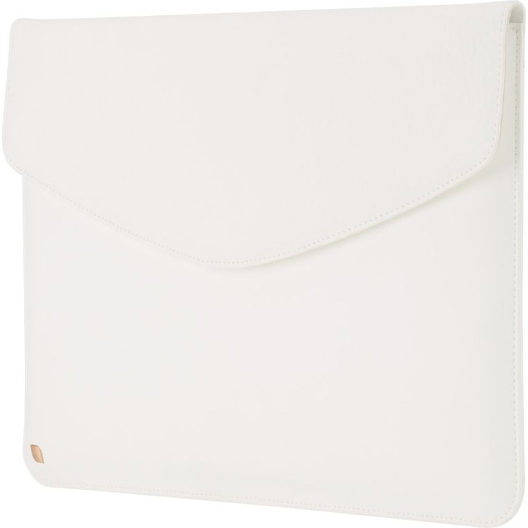 Чехол Incase Slip Folio Select для MacBook 13 белыйЧехлы для MacBook Air 13<br>Incase Slip Folio Select завораживает и привлекает внимание своей простотой и шармом.<br><br>Цвет товара: Белый<br>Материал: Кожа, хлопок