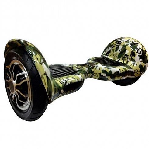 Гироскутер AsixBot 10 ХакиГироскутеры<br>Гироскутер AsixBot — современное и маневренное средство передвижения.<br><br>Цвет товара: Зелёный<br>Материал: Металл, пластик