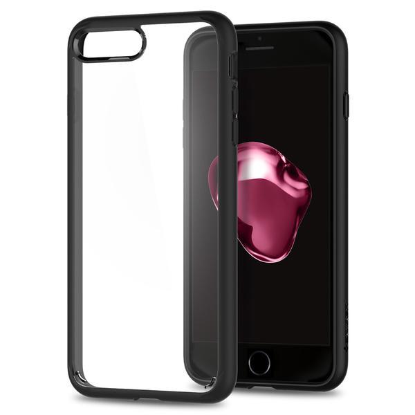 Чехол Spigen Ultra Hybrid 2 для iPhone 7 Plus (Айфон 7 Плюс) чёрный (SGP-043CS21137)Чехлы для iPhone 7 Plus<br>Ultra Hybrid 2 - идеальный чехол тех, кто ценит максимальную функциональность!<br><br>Цвет товара: Чёрный<br>Материал: Термопластичный полиуретан, поликарбонат