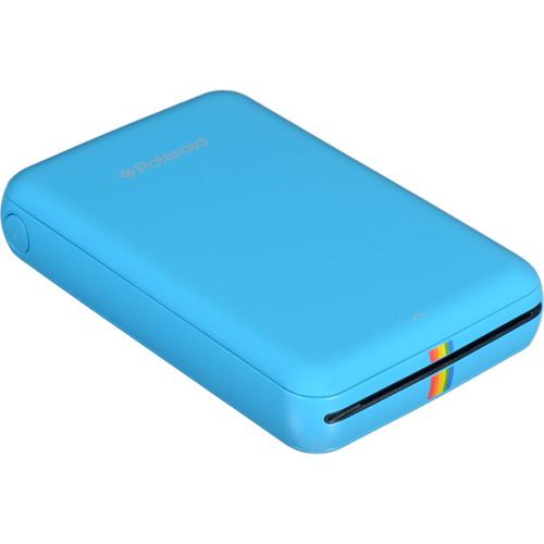 Портативный принтер Polaroid ZIP Mobile Printer синийПортативные принтеры<br>Polaroid ZIP — это портативный принтер для быстрой печати фотографий со смартфона или планшета на базе iOS или Android.<br><br>Цвет товара: Синий<br>Материал: Пластик