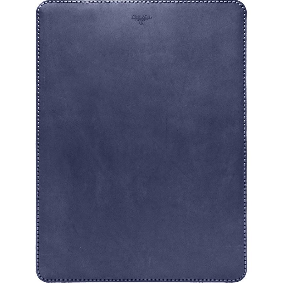 Кожаный чехол With Love. Moscow Classic для MacBook Pro 13 (2016) синий Royal blueЧехлы для MacBook Pro 13 Retina<br>Чехол With Love. Moscow Classic удивительно приятен и рукам и глазу, вы убедитесь в этом, как только оденете его на свой MacBook.<br><br>Цвет товара: Синий<br>Материал: Материал чехла: натуральная кожа Crazy Horse (Италия); Материал подкладки: Натуральная замша (ОАЭ)