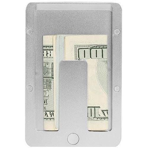 Дополнительный модуль MoneyClip для магнитного кошелька Pitaka MagWallet Aluminum серебристыйКошельки и портмоне<br>Дополнительный модуль специально для магнитного кошелька Pitaka MagWallet Carbon, в котором вы сможете хранить денежные купюры.<br><br>Цвет товара: Серебристый<br>Материал: Алюминий