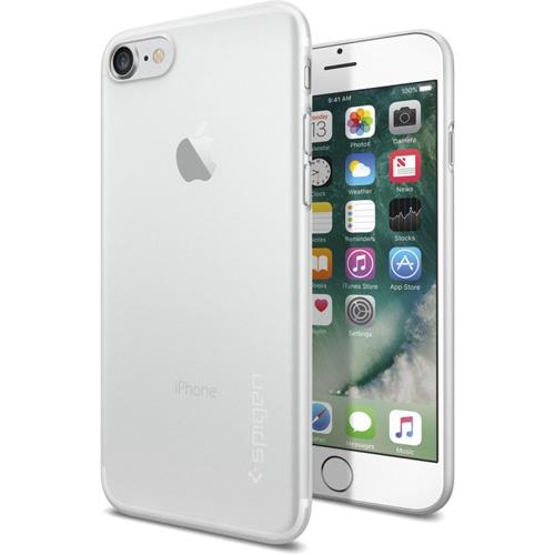 Чехол Spigen Air Skin для iPhone 7 (Айфон 7) прозрачный матовый (SGP-042CS20487)Чехлы для iPhone 7<br>Ультратонкий и ультралёгкий чехол Spigen Air Skin для iPhone 7.<br><br>Цвет товара: Прозрачный<br>Материал: Поликарбонат