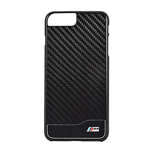Чехол BMW M-Collection Aluminium & Carbon Hard для iPhone 7 Plus (Айфон 7 Плюс) чёрный