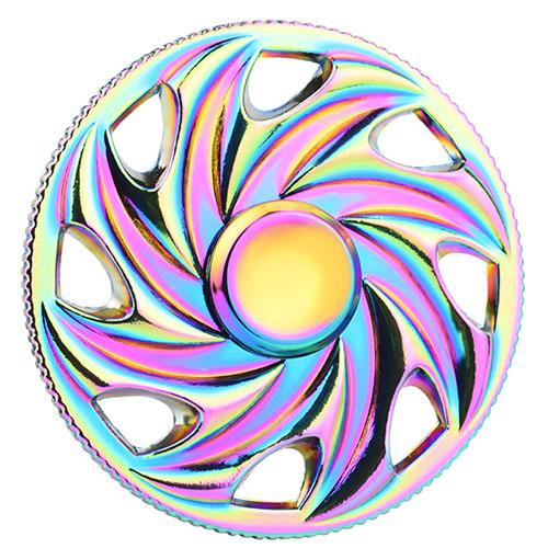 Спиннер Fidget Glory Rainbow Series Пила SP4548Игрушки-антистресс<br>Благодаря покрытию «хамелеон» спиннер Fidget Glory захватывает внимание с первой секунды!<br><br>Цвет товара: Разноцветный<br>Материал: Металл