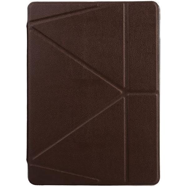 Чехол Onjess Folding Style Smart Stand Cover для iPad Pro10.5 тёмно-коричневыйЧехлы для iPad Pro 10.5<br>Чехол Onjess Folding Style Smart Stand Cover для iPad выполнен в тонком, изящном дизайне, который буквально притягивает к себе внимание.<br><br>Цвет товара: Коричневый<br>Материал: Искусственная кожа, силикон