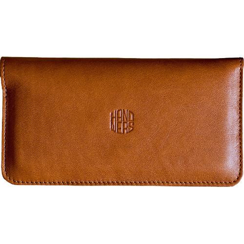 Чехол Handwers Ranch для iPhone 5/5S/SE КоричневыйЧехлы для iPhone 5/5S/SE<br>Handwers Ranch - одновременно чехол для смартфона и бумажник.<br><br>Цвет товара: Коричневый<br>Материал: Натуральная кожа, войлок
