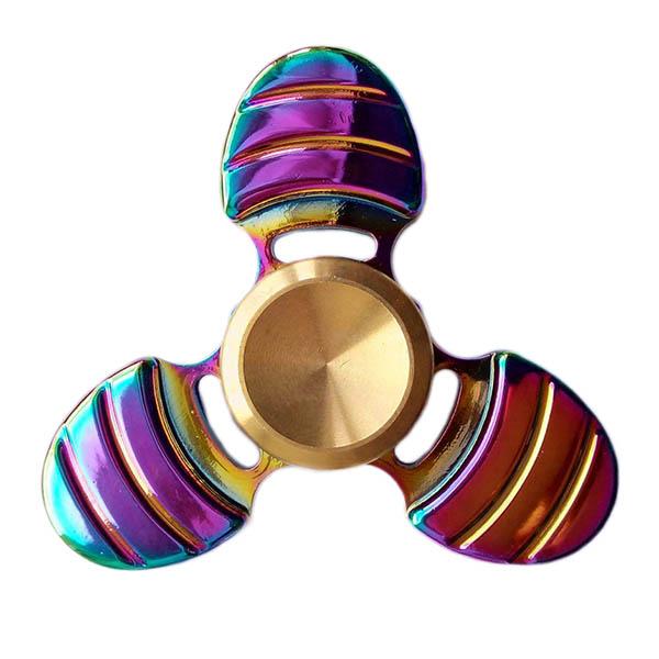 Спиннер Fidget Glory Rainbow Series Пчела SP4563Игрушки-антистресс<br>Благодаря покрытию «хамелеон» спиннер Fidget Glory захватывает внимание с первой секунды!<br><br>Цвет товара: Разноцветный<br>Материал: Металл