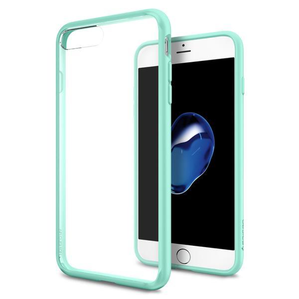 Чехол Spigen Ultra Hybrid для iPhone 7 Plus (Айфон 7 Плюс) мятный (SGP-043CS20551)Чехлы для iPhone 7 Plus<br>Spigen Ultra Hybrid — идеальный чехол для минималистов, которые ценят максимальную надёжность и безопасность!<br><br>Цвет товара: Мятный<br>Материал: Термопластичный полиуретан (TPU)