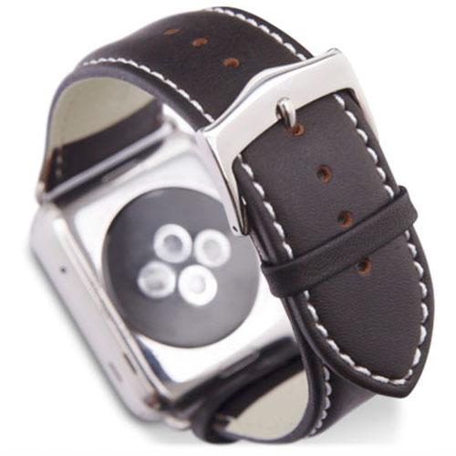 Ремешок Dbramante1928 Copenhagen Watch Strap для Apple Watch 42мм Серебристый / Темно-коричневыйРемешки для Apple Watch<br>Ремешок Dbramante1928 Copenhagen Watch Strap для Apple Watch 42мм Серебристый / Темно-коричневый<br><br>Цвет товара: Коричневый<br>Материал: Натуральная кожа, нержавеющая сталь<br>Модификация: 42 мм