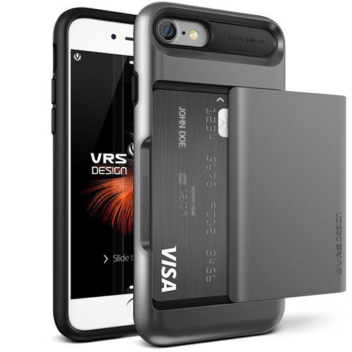 Чехол Verus Damda Glide для iPhone 7, iPhone 8 стальной (VRIP7-DGLDS)Чехлы для iPhone 7<br>Чехол Verus для iPhone 7  Damda Glide, стальной голубой (904611)<br><br>Цвет товара: Серый космос<br>Материал: Поликарбонат