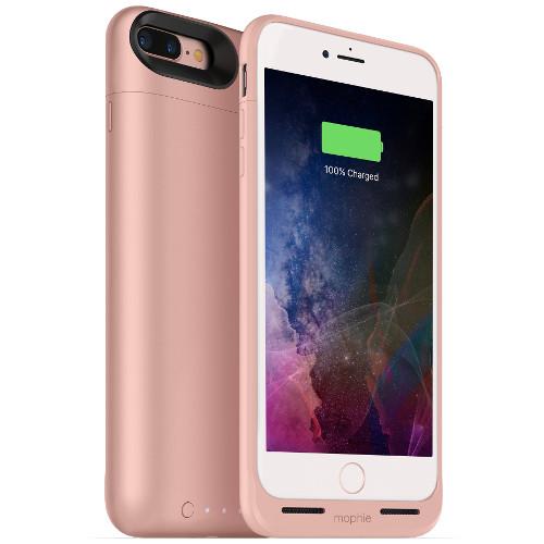 Чехол-аккумулятор Mophie Juice Pack Air на 2420 мАч для iPhone 7 Plus розовыйЧехлы для iPhone 7/7 Plus<br>Mophie Juice Pack Air — это идеальный чехол - тонкий и легкий, он обеспечит ваш новенький iPhone 7 Plus 100% защитой и энергией.<br><br>Цвет товара: Розовый<br>Материал: Поликарбонат, резина