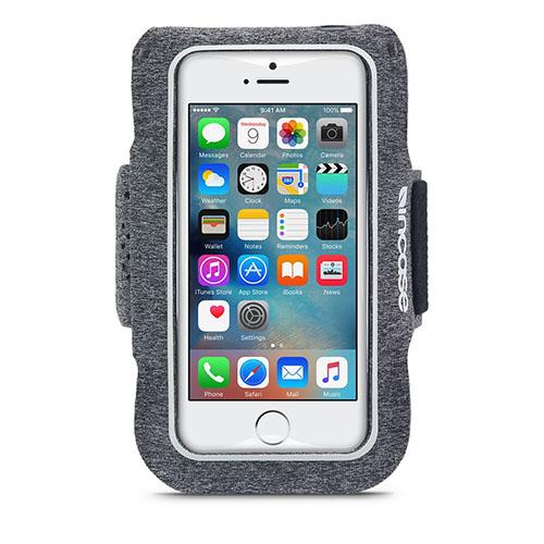 Чехол Incase Sports Armband для iPhone 5/5S/SE серыйЧехлы для iPhone 5s/SE<br>Чехол Incase Sports Armband для iPhone 5/se серый<br><br>Цвет товара: Серый<br>Материал: Неопрен, текстиль