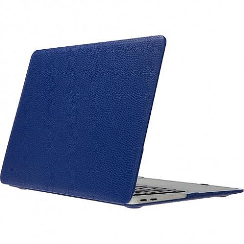 Чехол Royal De Lis для MacBook Pro 15 Touch Bar (New 2016) синяя кожаЧехлы для MacBook Pro 15 Touch Bar 2016<br>Элегантный и надежный — вот как можно охарактеризовать чехол-накладку для нового MacBook от Royal De Lis.<br><br>Цвет товара: Синий<br>Материал: Натуральная кожа, пластик