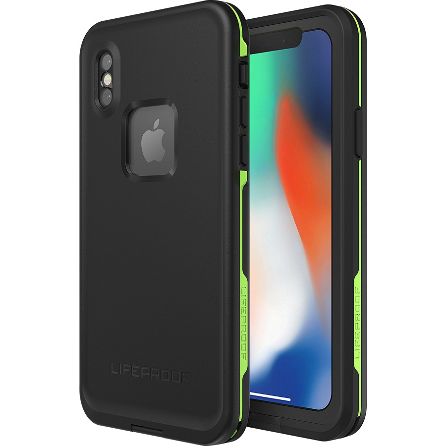 Водонепроницаемый чехол LifeProof FRE для iPhone X чёрный Night LiteЧехлы для iPhone X<br>Чехол Lifeproof Fr? изготовлен из новейших полимеров, которые делают его максимально легким и прочным.<br><br>Цвет: Чёрный<br>Материал: Пластик, силикон