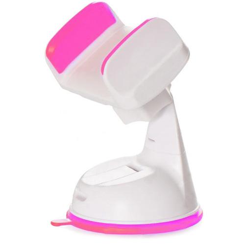 Автомобильный держатель Silicone Sucker 360 розовыйАвтодержатели<br>Надёжный и компактный автодержатель Silicone Sucker 360.<br><br>Цвет товара: Розовый<br>Материал: Пластик, силикон