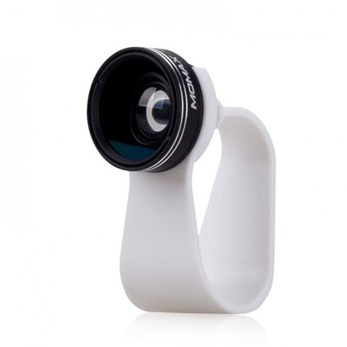 Объектив Momax 2 в 1 для смартфонов (CMS1D)Объективы<br>Объектив Momax 2 в 1 для смартфонов (CMS1D)<br><br>Цвет товара: Белый<br>Материал: Пластик, оптическое стекло