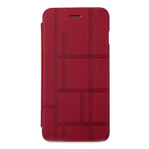 Чехол Momax Elite Series Booktype Case для iPhone 6/6s Plus красный