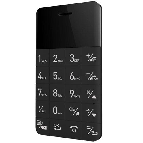 Ультратонкий анти-смартфон Elari CardPhone чёрныйАнтисмартфоны<br>Ультратонкий анти-смартфон Elari CardPhone чёрный<br><br>Цвет товара: Чёрный<br>Материал: Пластик