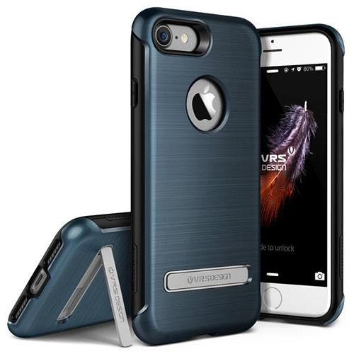 Чехол Verus Duo Guard для iPhone 7 (Айфон 7) синий (VRIP7-DGDBB)Чехлы для iPhone 7<br>Чехол Verus для iPhone 7 Duo Guard, стальной голубой (904619)<br><br>Цвет товара: Синий<br>Материал: Поликарбонат, полиуретан