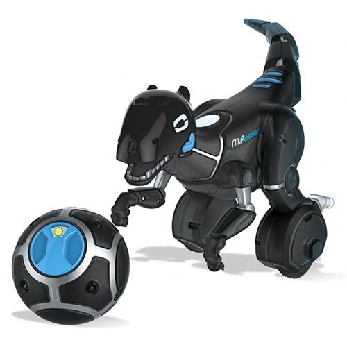 Робот динозавр WowWee MiPosaur (0895) чёрныйИгрушки управляемые смартфоном<br>WowWee MiPosaur станет любимой игрушкой для каждого ребенка.<br><br>Цвет товара: Чёрный