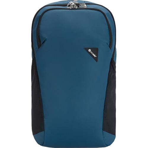 Рюкзак PacSafe Vibe 20 (Eclipse/Затмение) синийРюкзаки<br>PacSafe Vibe 20 Anti-theft - это туристический рюкзак ёмкостью 20 литров, оснащённый защитой от воров.<br><br>Цвет товара: Синий<br>Материал: Текстиль, нержавеющая сталь, пластик
