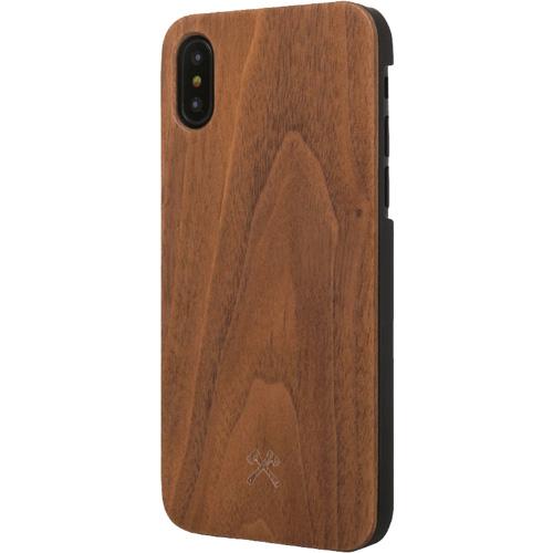 Чехол Woodcessories EcoCase Classic для iPhone Х грецкий орехЧехлы для iPhone X<br>Чехол Woodcessories EcoCase Classic для iPhone X — невероятно красивый и удобный чехол для вашего смартфона!<br><br>Цвет товара: Коричневый<br>Материал: Дерево, пластик