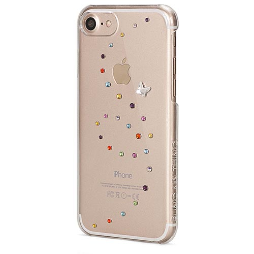 Чехол Bling My Thing Papillon для iPhone 7 (Айфон 7) Cotton Candy прозрачный