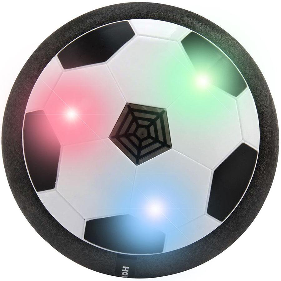 Летающий мяч HoverBall с LED подсветкойРисование, творчество, обучение<br>HoverBall - это уникальный летающий мяч, играть с которым невероятно весело!<br><br>Цвет товара: Чёрный<br>Материал: Пластик, пеноматериал