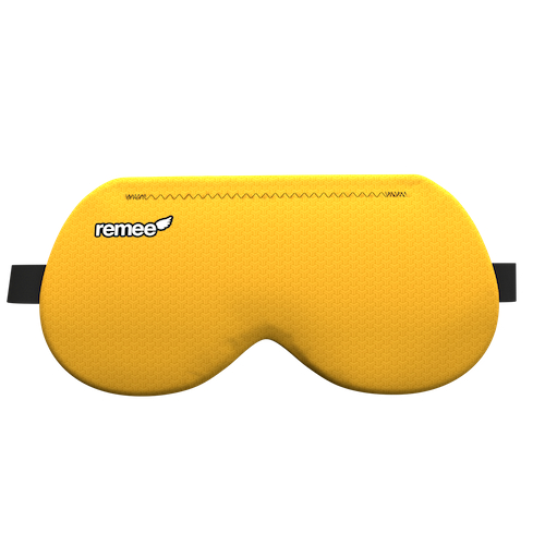 Маска для осознанных сновидений Remee жёлтаяЗдоровый сон<br><br><br>Цвет товара: Жёлтый<br>Материал: Текстиль, EVA пена