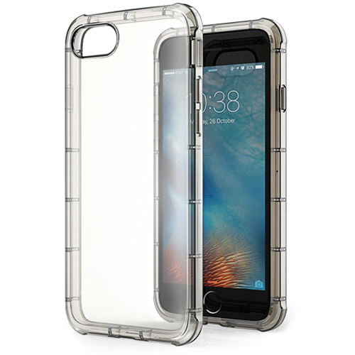 Чехол Anker ToughShell Air для iPhone 7 Plus затемнённыйЧехлы для iPhone 7 Plus<br>Тонкий и прочный чехол Anker Toughshell Air для Вашего iPhone 7 Plus.<br><br>Цвет товара: Прозрачный<br>Материал: Термопластичный полиуретан TPU