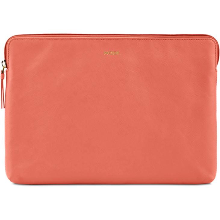 Чехол Dbramante1928 MODE. Paris для MacBook Pro 13 с и без Touch Bar (USB-C) оранжевый Rusty RoseMacBook Pro 13<br>Dbramante1928 Paris - элегантный и практичный чехол.<br><br>Цвет: Оранжевый<br>Материал: Сафьяновая кожа