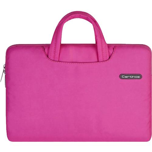 Сумка Cartinoe Dream Series для MacBook 13 розоваяСумки для ноутбуков<br>Cartinoe Dream Series — стильная и удобная сумка для ноутбуков с диагональю до 13 дюймов.<br><br>Цвет товара: Розовый<br>Материал: Текстиль