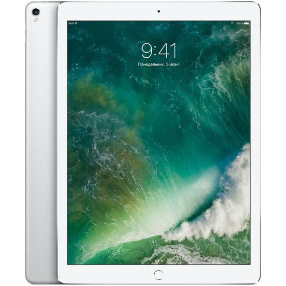 Apple iPad Pro 12.9 (2017) 64 Гб Wi-Fi + Cellular серебристыйiPad Pro 12.9 (2017)<br>Новый iPad Pro мощнее множества современных ноутбуков!<br><br>Цвет товара: Серебристый<br>Материал: Металл, пластик<br>Модификация: 64 Гб