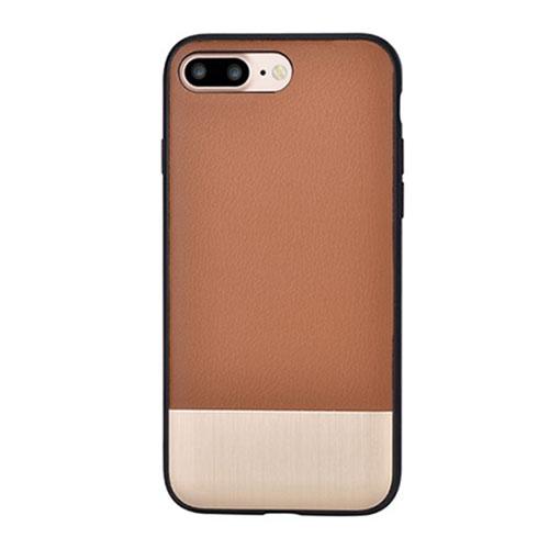 Чехол Devia Commander Case для iPhone 7 Plus коричневыйЧехлы для iPhone 7 Plus<br>Чехол Devia Commander Case изготовлен из комбинации высококачественного термопластика и эко-кожи с покрытием Soft touch.<br><br>Цвет товара: Коричневый<br>Материал: Натуральная кожа, алюминий, термопластик