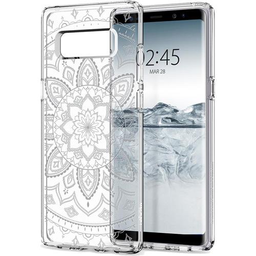 Чехол Spigen Liquid Crystal Shine для Samsung Galaxy Note 8 прозрачный (587CS22057)Чехлы для Samsung Galaxy Note<br>Гибкий и прочный чехол Spigen Liquid Crystal Shine с оригинальным рисунком, изготовленный из термопластичного полиуретана.<br><br>Цвет товара: Прозрачный<br>Материал: Термопластичный полиуретан