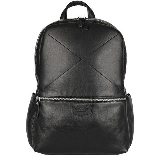 Рюкзак Ray Button Hastings для MacBook 13 чёрныйРюкзаки<br>Ray Button Hastings - это стильный и удобный аксессуар на каждый день.<br><br>Цвет товара: Чёрный<br>Материал: Натуральная кожа