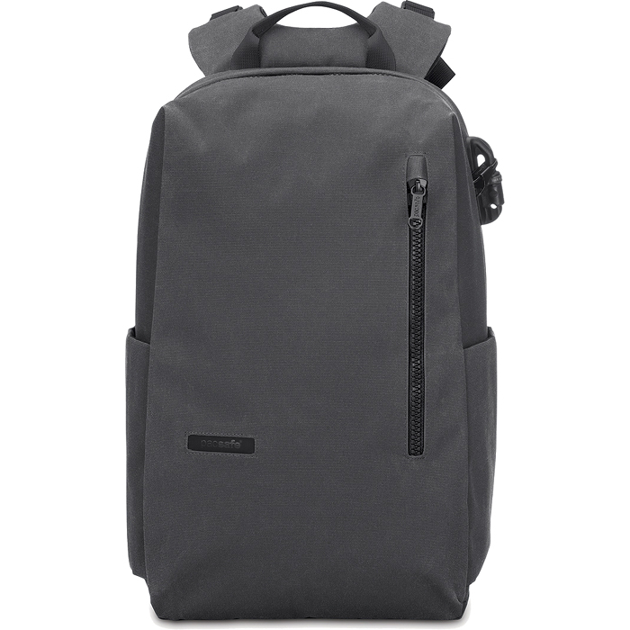 Рюкзак PacSafe Intasafe Backpack anti-theft 20L Charcoal серый от iCases